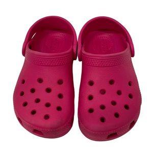 Crocs Slip On Shoes Pink Size C10